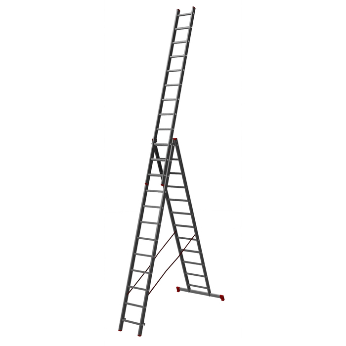Лестница трехсекционная Halta PRO 3х13