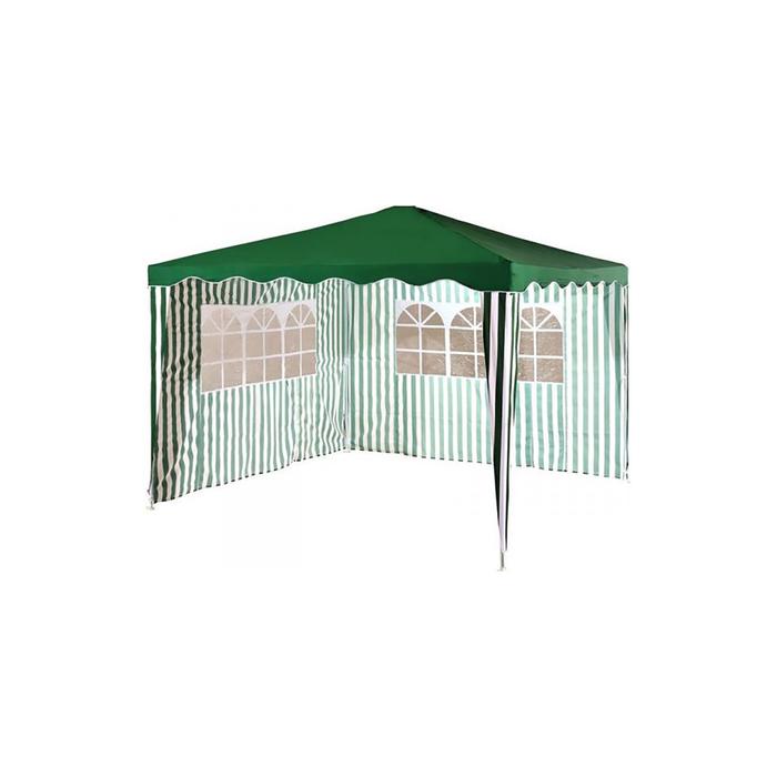 Тент садовый из полиэстера 1023  3х3х2,5 зеленый