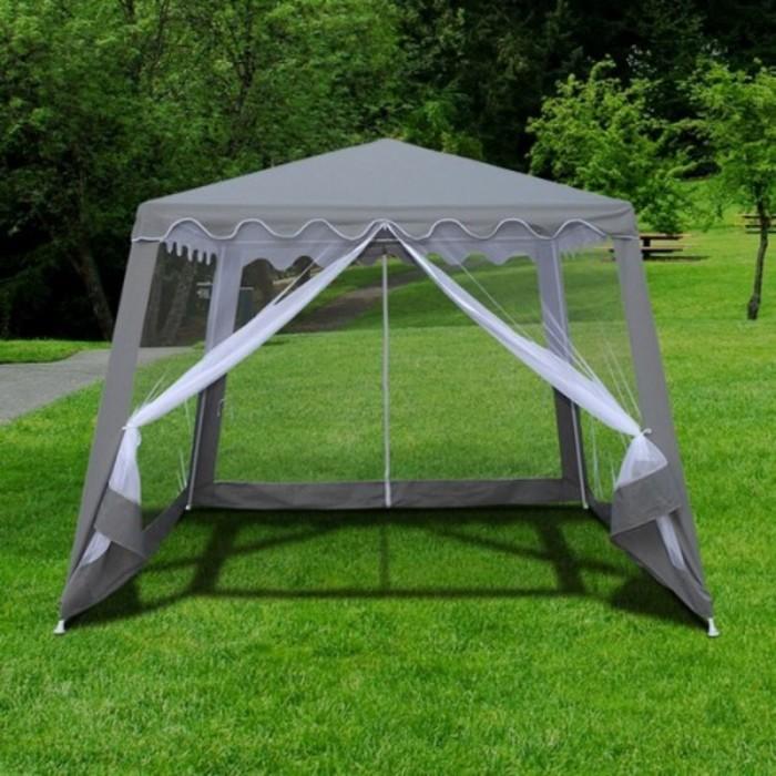 Садовый шатер AFM-1036NB Grey (3x3/2.4x2.4)