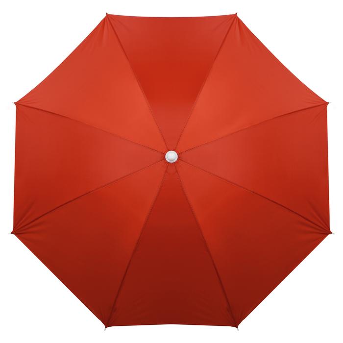 """Зонт пляжный """"Классика"""" с механизмом наклона, d=180 cм"""