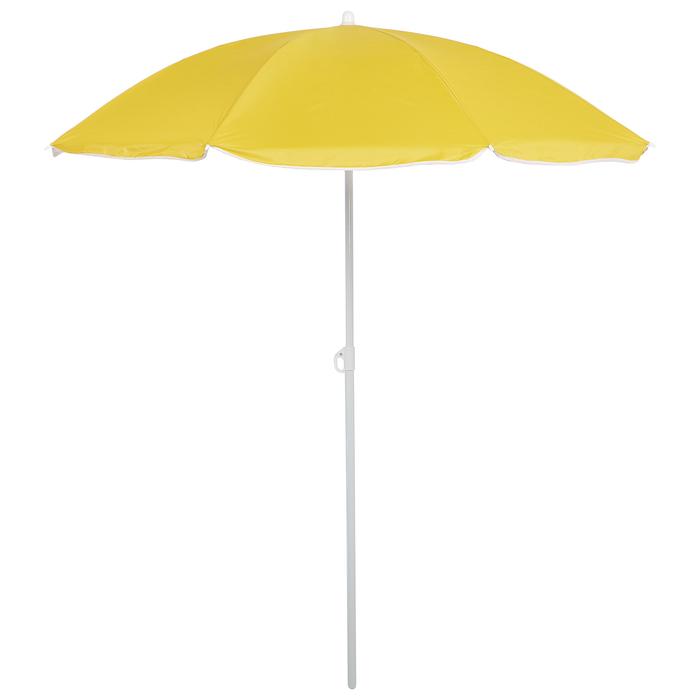 """Зонт пляжный """"Классика"""" с механизмом наклона, d=210 cм, h=200 см, МИКС"""