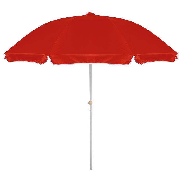 """Зонт пляжный """"Классика"""" с механизмом наклона, d=240 cм"""