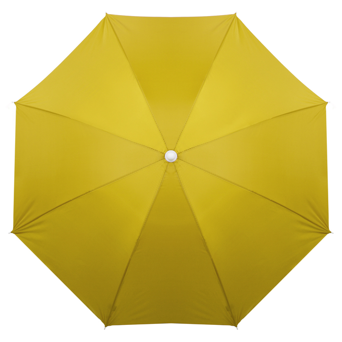 """Зонт пляжный """"Классика"""" с серебряным покрытием, d=160 cм"""