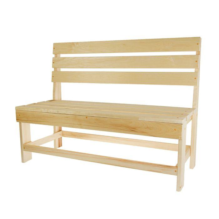 Скамейка, полок 100×55×90см ПРОМО