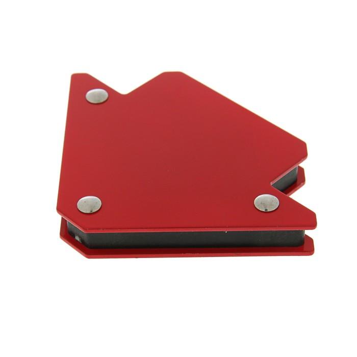 Магнитный угольник Optima, для сварки, 45, 90, 135°, усилие на отрыв 11 кг