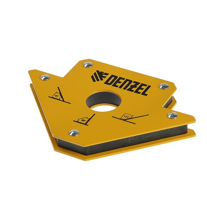 Магнитный угольник Denzel 97553, для сварочных работ, усилие 23 кг, 45, 90, 135°