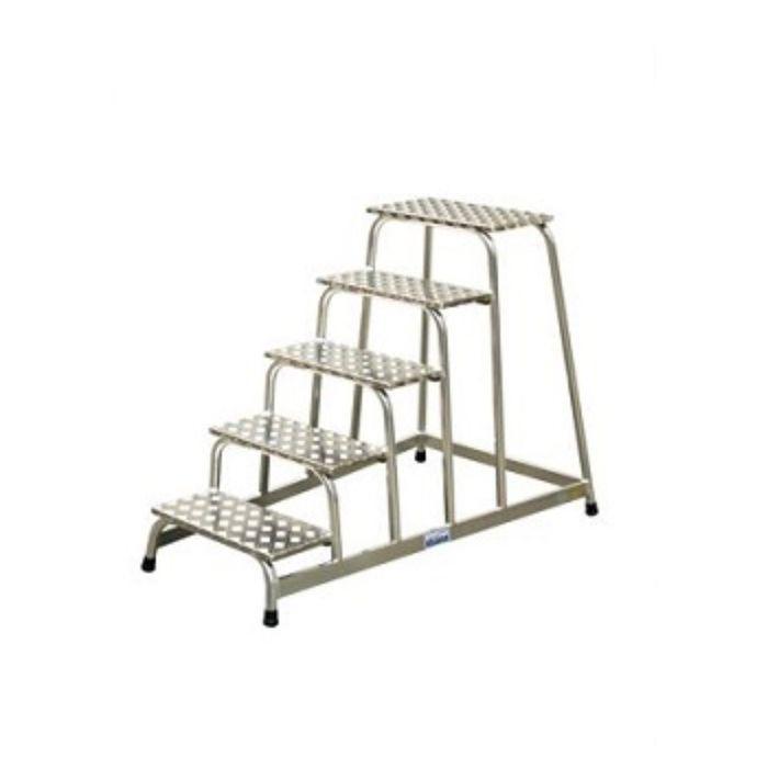 Подставка монтажная KRAUSE STABILO, алюминевая, противоскользящая, 5 ступеней