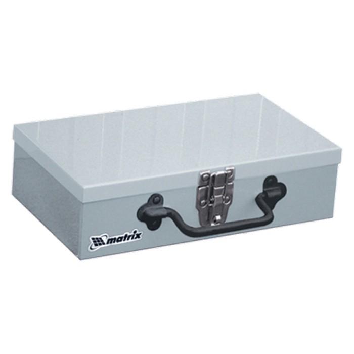 Ящик для инструмента MATRIX, 284 × 160 × 78 мм, металлический