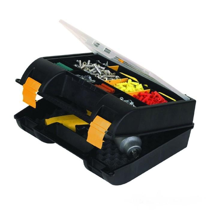 Ящик для инструментов Stanley 1-92-734, с органайзером в крышке, пластмассовый