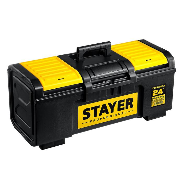 "Ящик для инструмента  STAYER Professional ""TOOLBOX-24"", пластиковый"