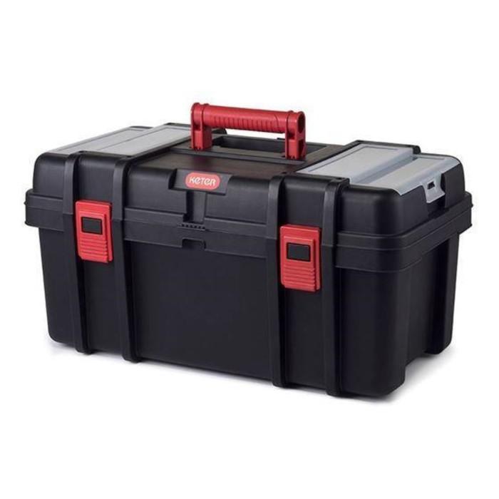 """Ящик для инструментов Classic Tool box, 22"""", красно-чёрный"""