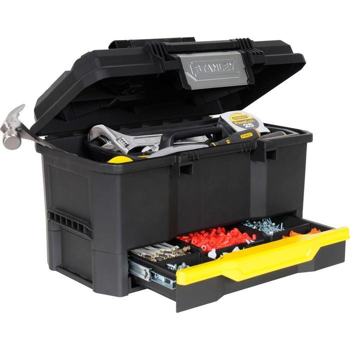 """Ящик для инструментов Stanley 1-70-316, 19"""", с выдвижной секцией, пластмассовый"""