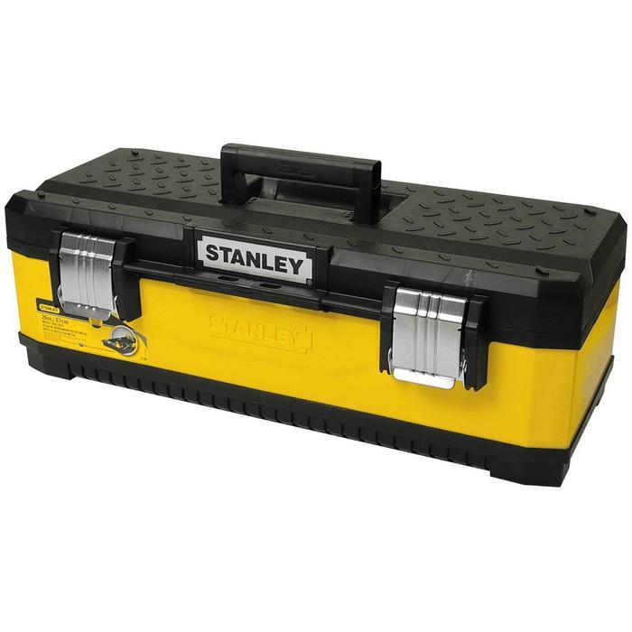 """Ящик для инструментов Stanley 1-95-614, 26"""", металлопластиковый, желтый"""