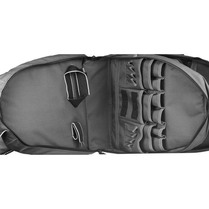 Рюкзак для инструмента KRAFTOOL 38745, 2 внутренних отделения, 49 карманов