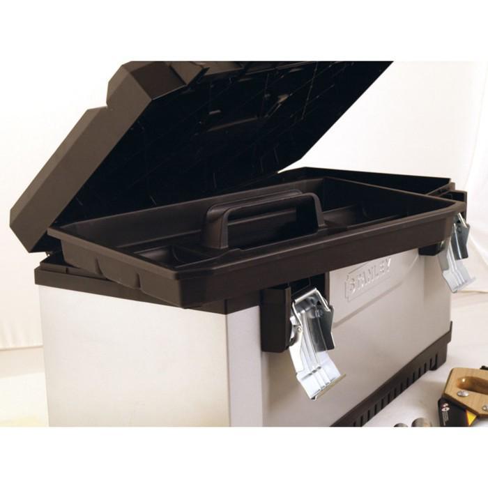 """Ящик для инструментов Stanley 1-95-617, 26"""", металлопластиковый"""