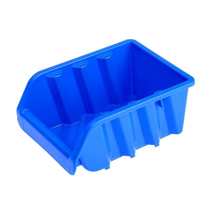 Лоток для метизов №1, 160х115х75 мм, синий