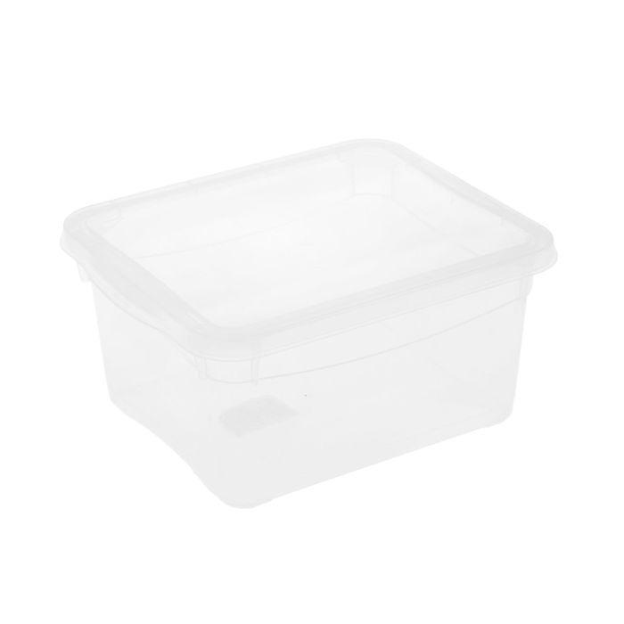 """Ящик для хранения, прямоугольный 2 л """"Кристалл"""""""