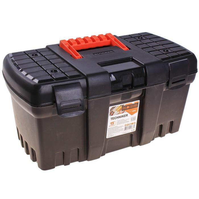 """Ящик для инструментов """"Techniker"""", цвет черный, без внутреннего ящика"""