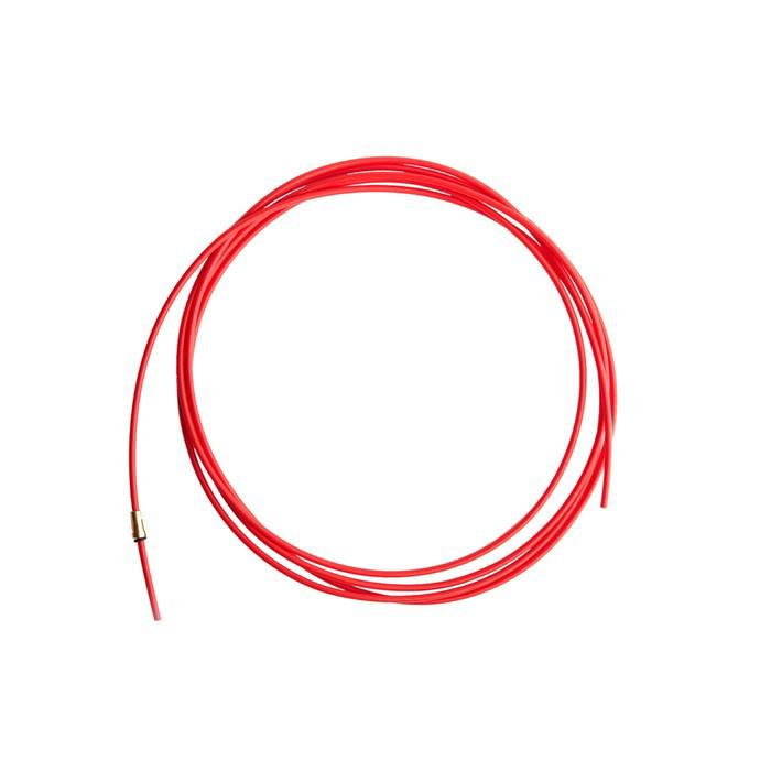 Канал подающий Optima XL126.0026, тефлоновый, красный, 4 м, d=1-1.2 мм
