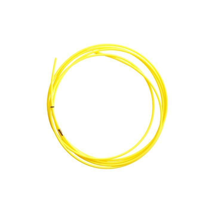 Канал подающий Optima XL126.0045, тефлоновый, желтый, 5 м, d=1.2-1.6 мм