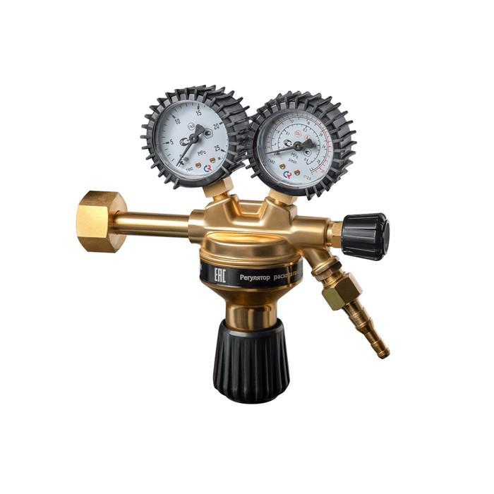 """Регулятор расхода газа универсальный """"Сварог"""" ТECH CONTROL UNI AR/CO2, ArR-128, 20 мПа, G3/4   40648"""