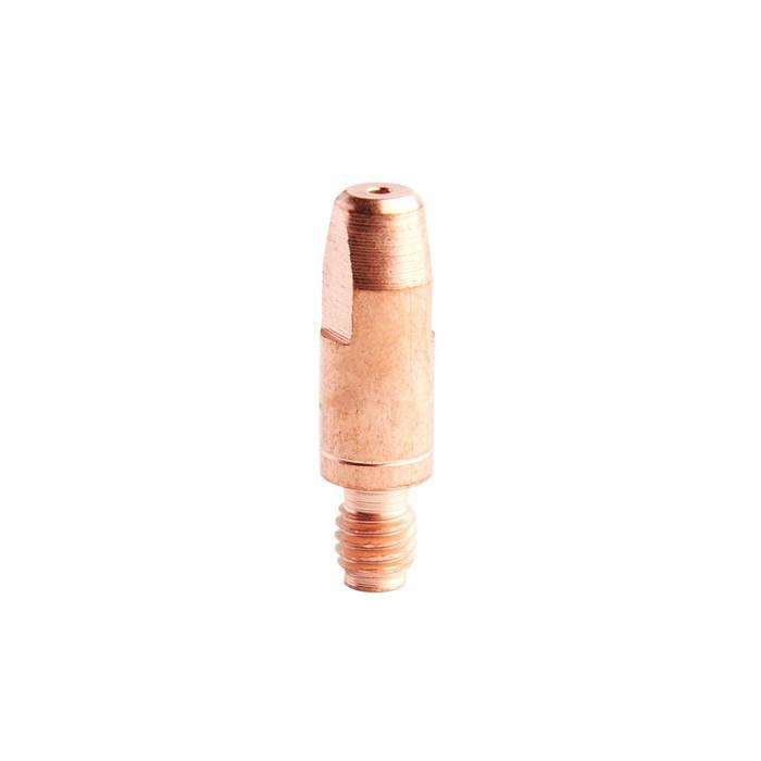 Токопроводящий наконечник Optima BS140.0051, E-Cu, М6, 28 мм, d=0.8 мм