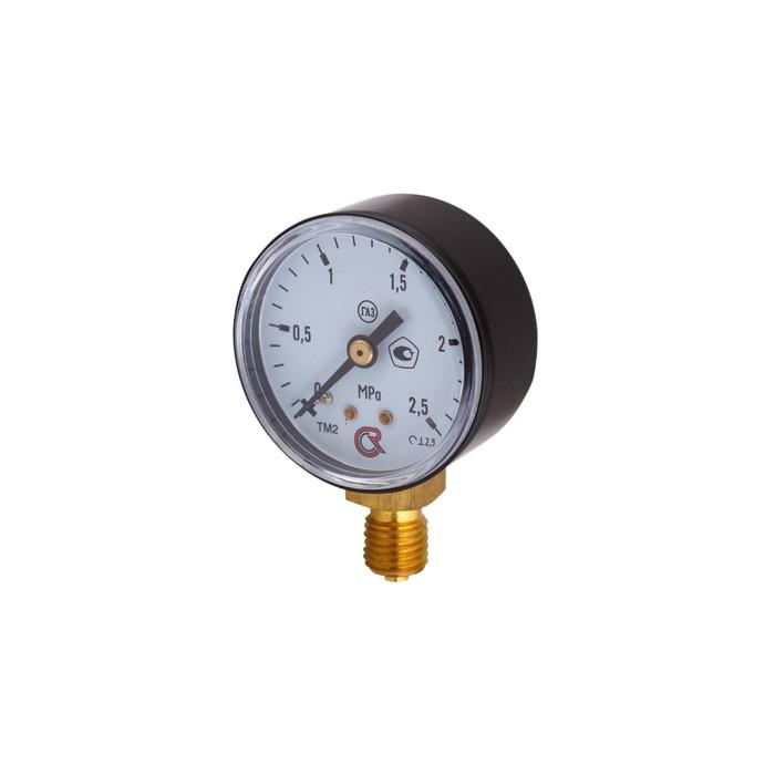 """Манометр """"Росма"""" ТМ-210Р (00000094906), 0-2.5 МПа, M12x1.5, d=50 мм, неагрессивные газы"""