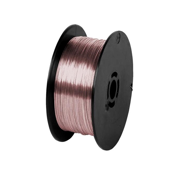 """Проволока сварочная """"Кратон"""" 1 19 02 005, стальная, омедненная, 0.8 мм, 1 кг"""