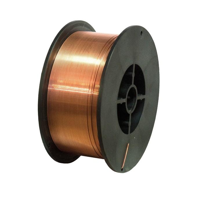 """Проволока сварочная """"Кратон"""" 1 19 02 008, стальная, омедненная, 1 мм, 5 кг"""