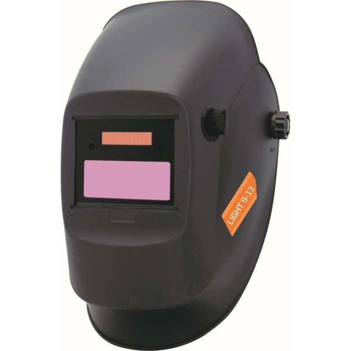Маска сварщика OPTIMA LIGHT 9-13, хамелеон, внешняя регулировка DIN 9-13, 90х35 мм, шлифовка   43438
