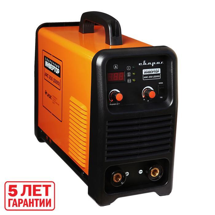 """Инвертор сварочный """"СВАРОГ"""" ARC 250 Z285, 9.2 кВт, 225А, электрод 1.5-5 мм, 220В"""