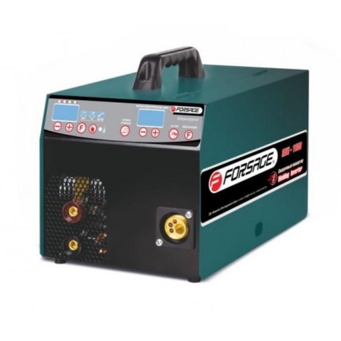 Инвертор сварочный Forsage F-ПСИ-160S, ММА, MIG/MAG, TIG, 8-150 А, 1.6-4 мм, 220 В