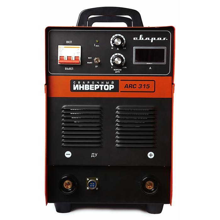 """Инвертор сварочный """"СВАРОГ"""" ARC 315 R14, 11.2 кВт, 315А, электрод 1.5-6 мм, 380В"""