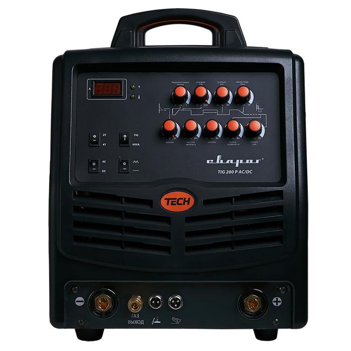 """Инвертор сварочный """"СВАРОГ"""" TIG 200 P AC/DC """"TECH"""" E101, 7 кВт, 200А, 220В"""