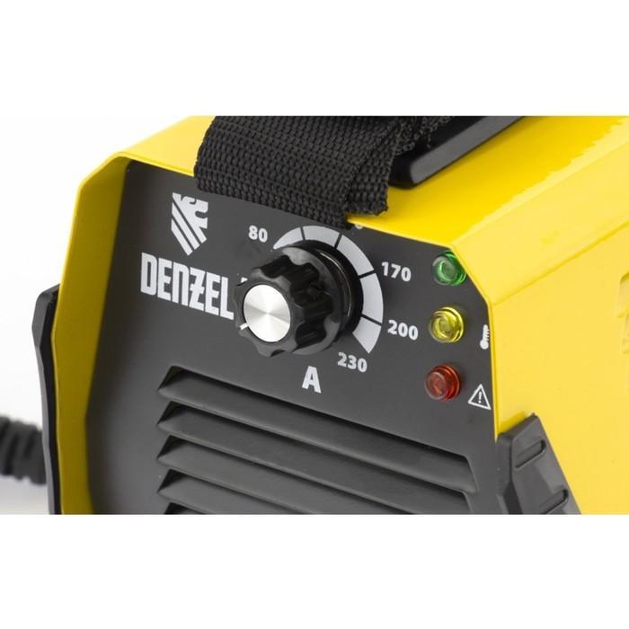 Сварочный инвертор Denzel DS-230 Compact, MMA, 230 А, ПВ 70%, диам.эл. 1,6-5 мм