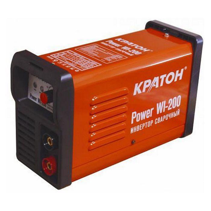 Инвертор сварочный Кратон Power WI-200, 6.3кВт, 20-200А, 1,6-5 мм