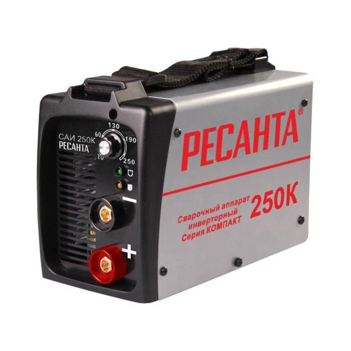 Сварочный инвертор Ресанта САИ 250 К, 9.35 кВт, 250 А