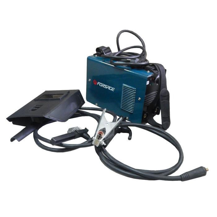 Сварочный инвертор Forsage F-MMA200, 20-200 А, 1.6-4 мм, 220 В, комплект аксессуаров