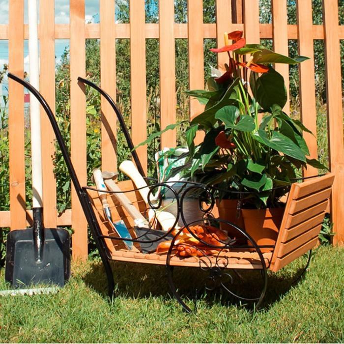 Садовая тележка 59-362 с деревом