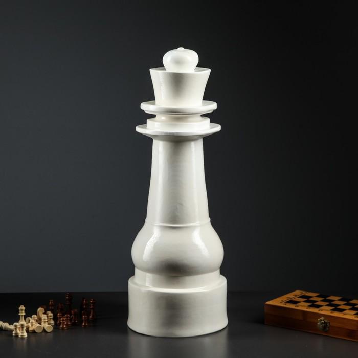 """Садовая фигура """"Король"""" белый"""