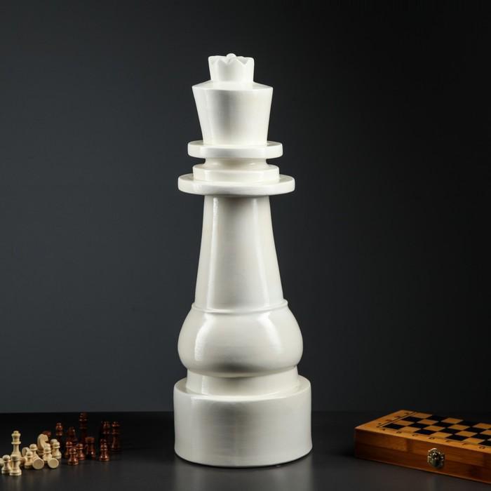 """Садовая фигура """"Королева"""" белый"""