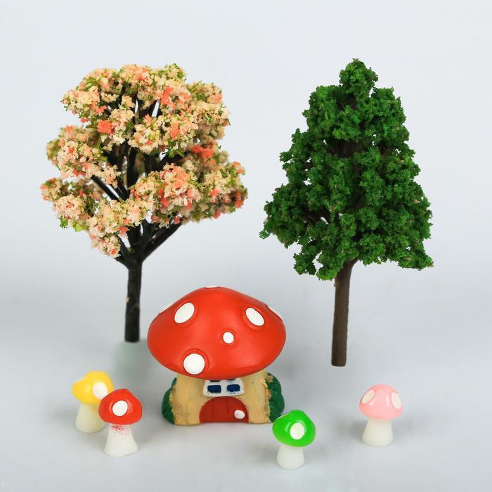 Набор для создания мини-садика «Волшебный лес», 10 х 12 х 4 см