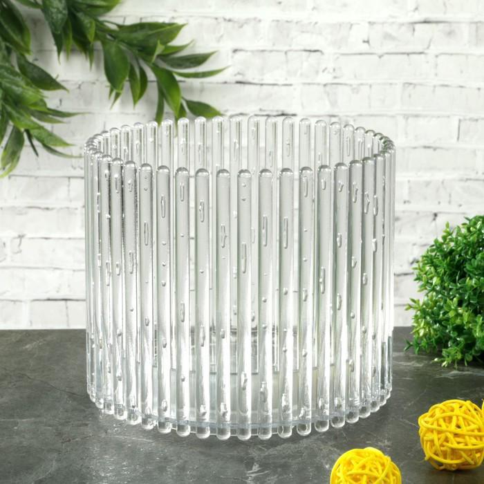 "Кашпо для орхидеи 1,8 л ""Шарм"", прозрачное"