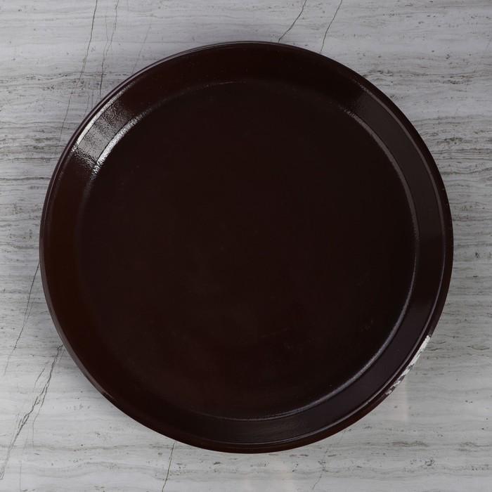 """Кашпо """"Ноктюрн"""" шёлк, шоколад 4,8 л"""