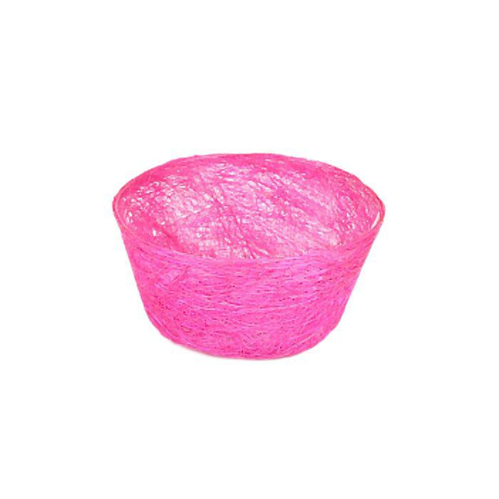 Кашпо, сизаль, круг, диффенбахия родамин 8 х 17 см