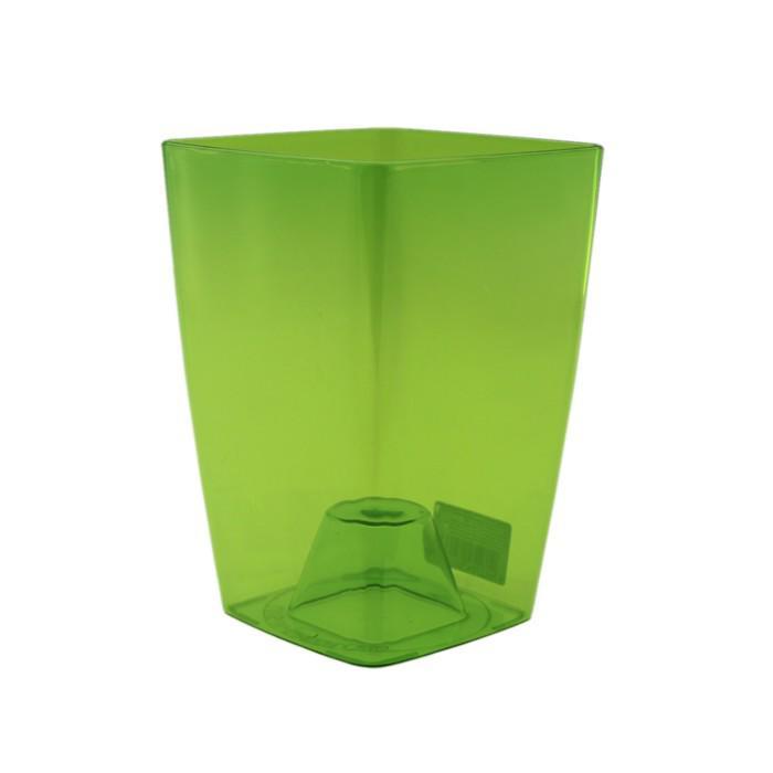 Горшок для орхидей «Сильвия», цвет зеленый