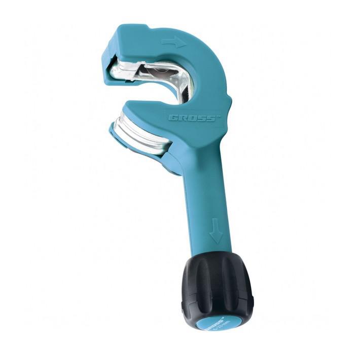 Труборез ручной GROSS PIRANHA, 6-23 мм, ручная регулировка зажима, храповый механизм
