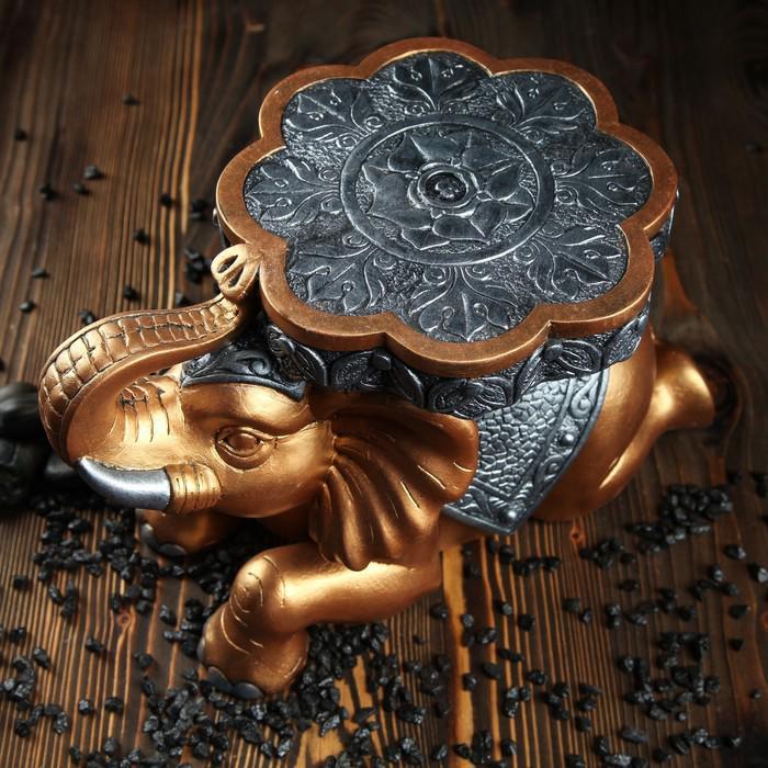 """Сувенир-подставка """"Индийский слон"""" 39 х 26 см цветная"""
