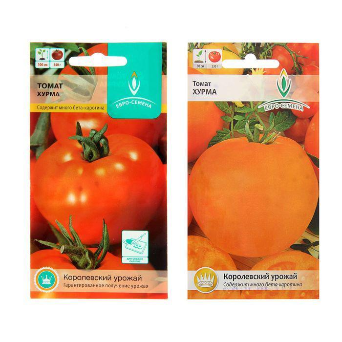 Семена Томат Хурма, низкорослый, 0,1 гр