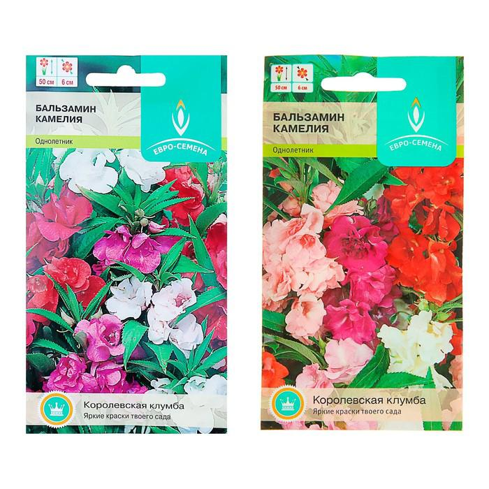 """Семена цветов Бальзамин садовый """"Камелия"""", О, 0,5 г"""